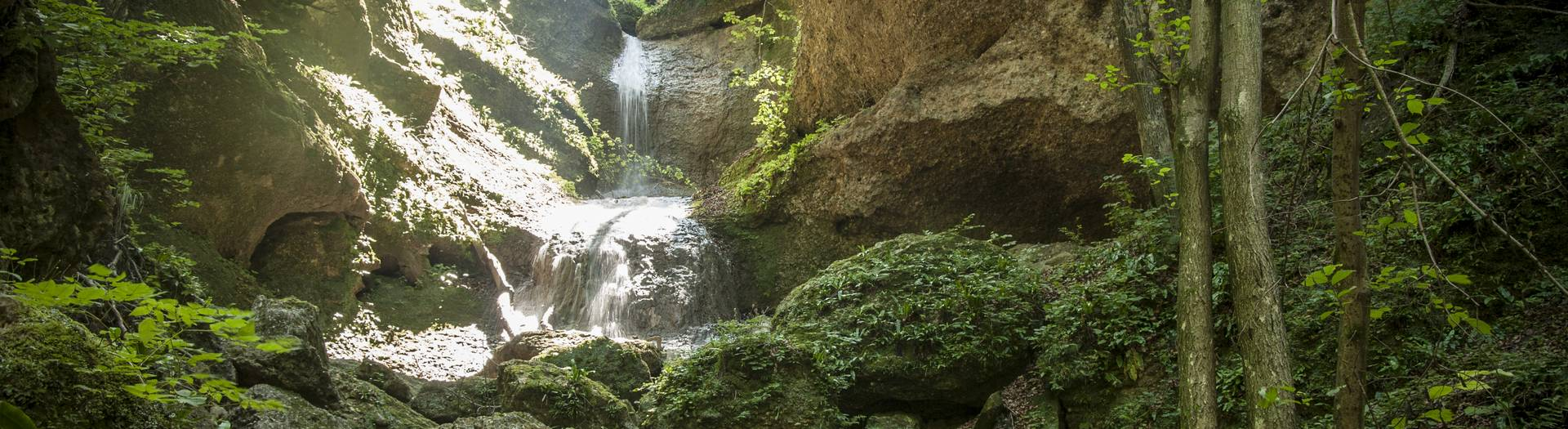 Wasserfall in Ebenthal bei Klagenfurt am Wörthersee