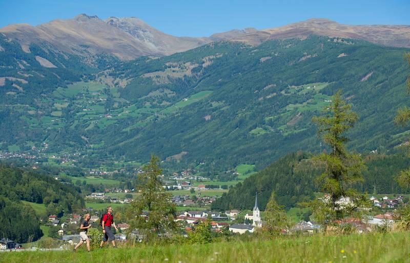 <p>Alpe Adria Trail, Künstlerstadt Gmünd</p>