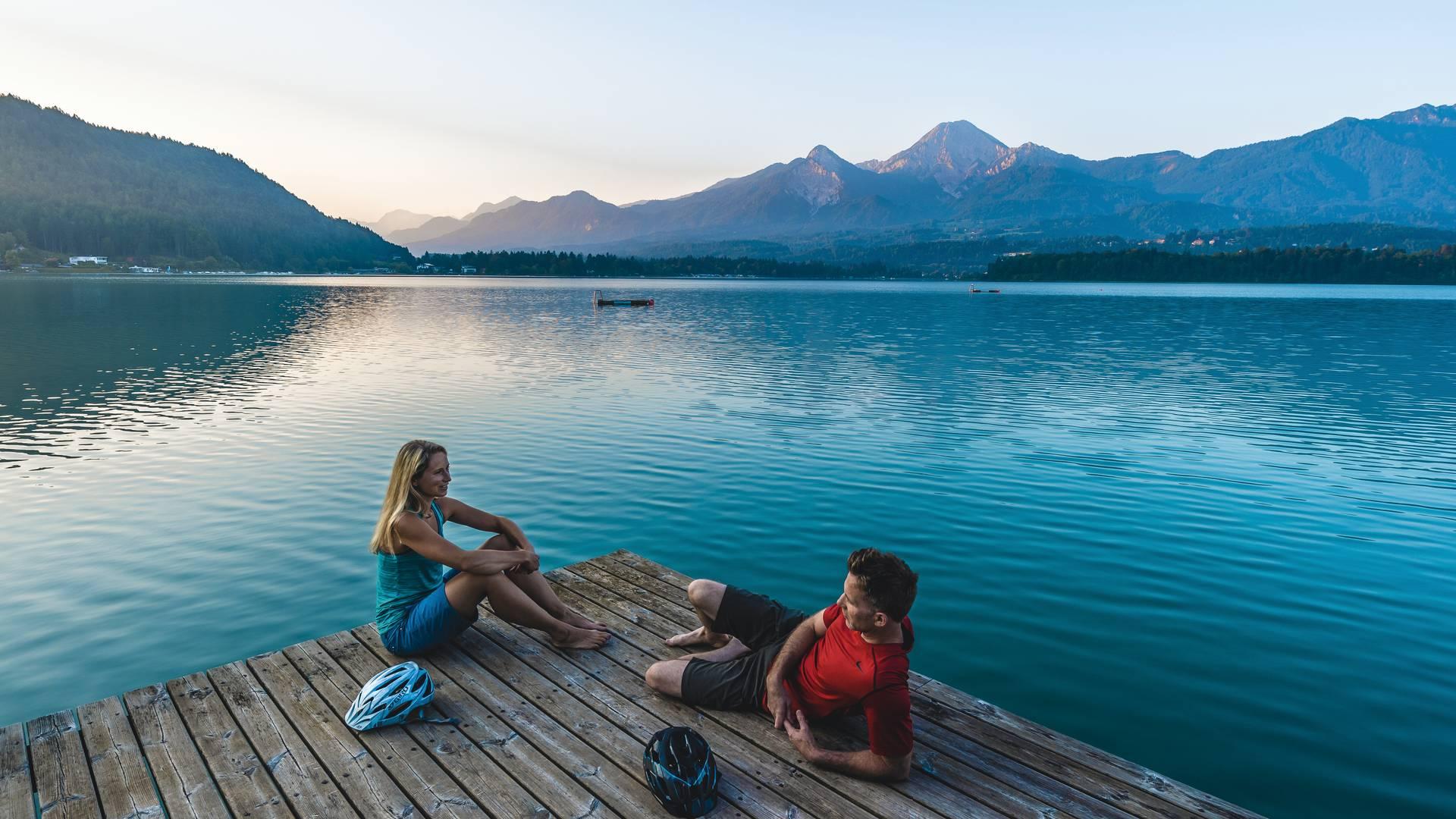 Region Villach, Faaker See, Morgenstimmung