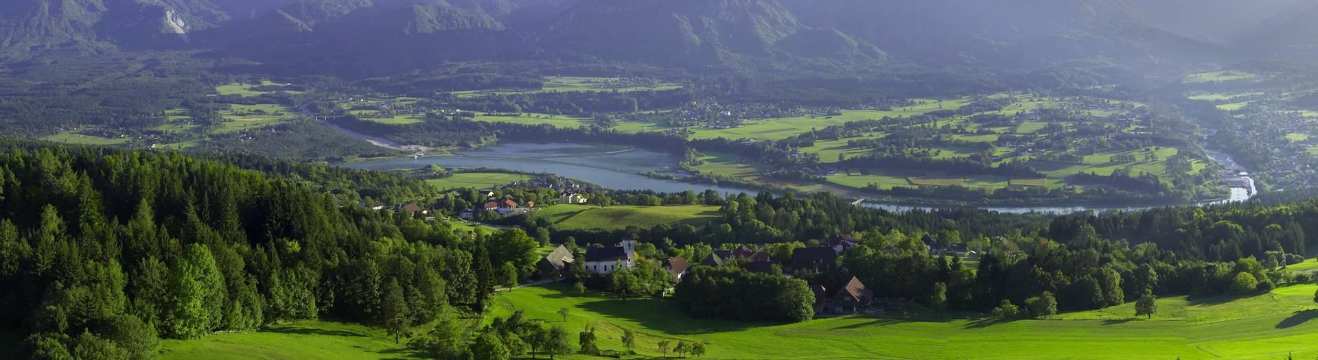 Landschaftsbild Rosental
