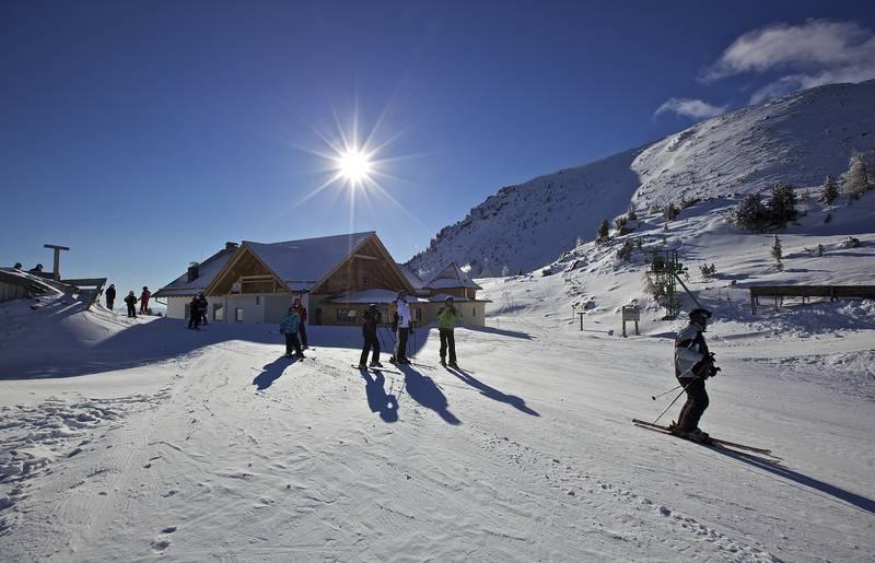 Winterlandschaft Turracher Höhe