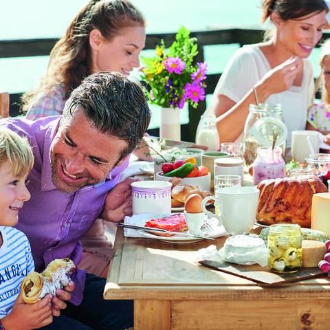 Kulinarik Kärnten - Frühstück am See