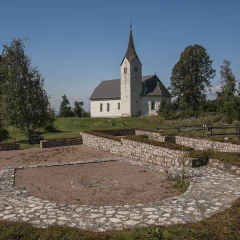 Hemmaberg in Globasnitz in Südkärnten Klopeiner See