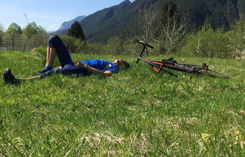 <p>Radfahren Ciclovia Alpe Adria Radweg, Roland</p>