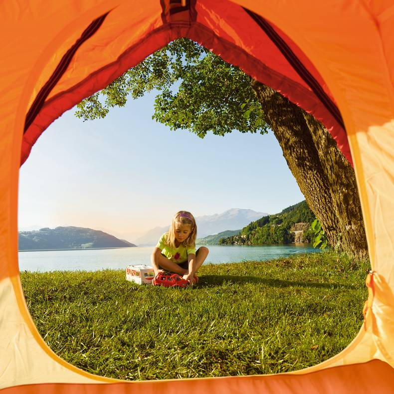 <p>Camping in Kärnten, Millstätter See</p>