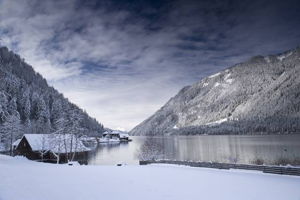Weissensee Winterlandschaft
