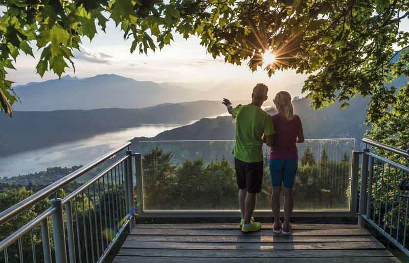 Millstätter See, Sternenbalkon, Zeit zu zweit, Aussicht
