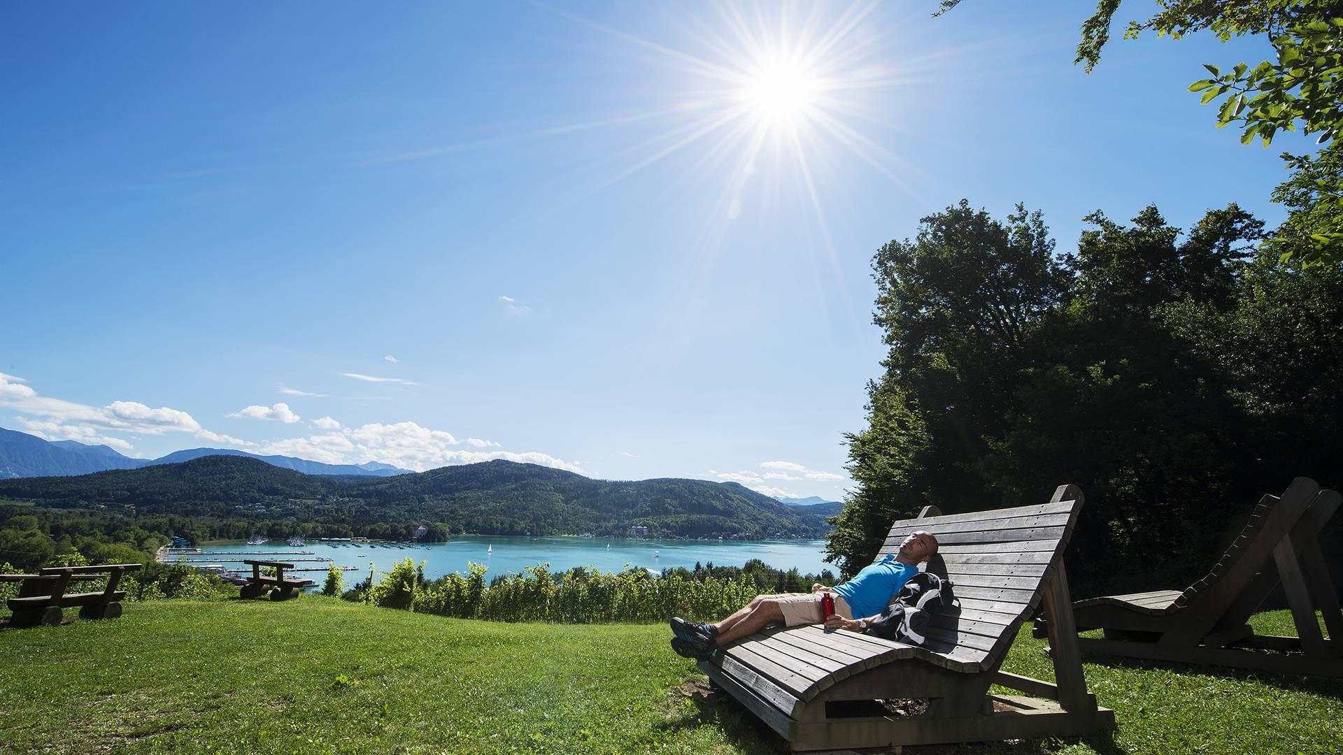Seenwandern Wörthersee Sommer 2012