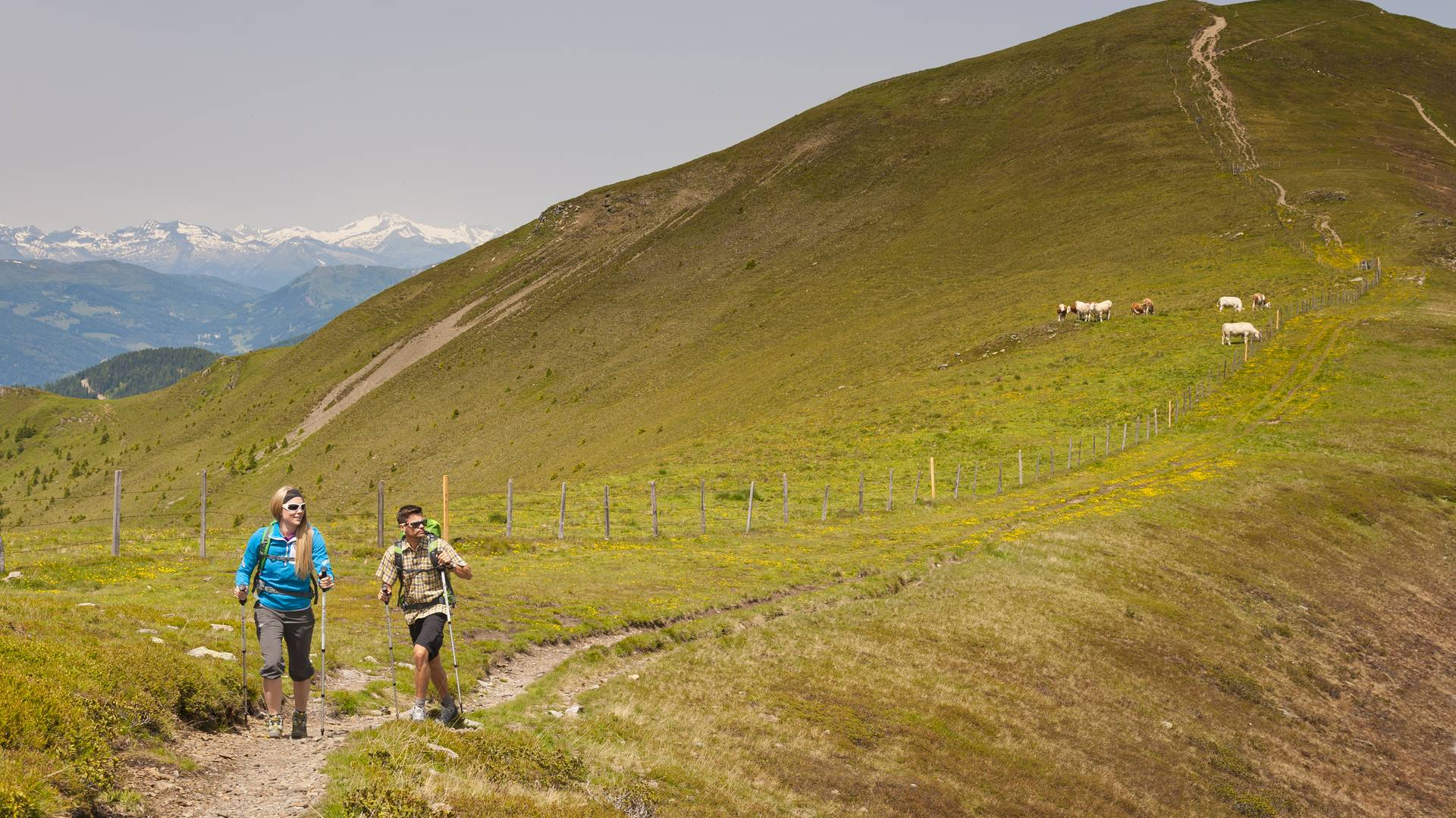 Wandern am Alpe Adria Trail Nockberge