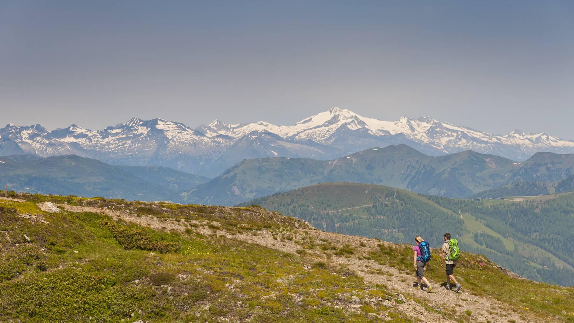 Wandern in den Nockbergen am Alpe Adria Trail