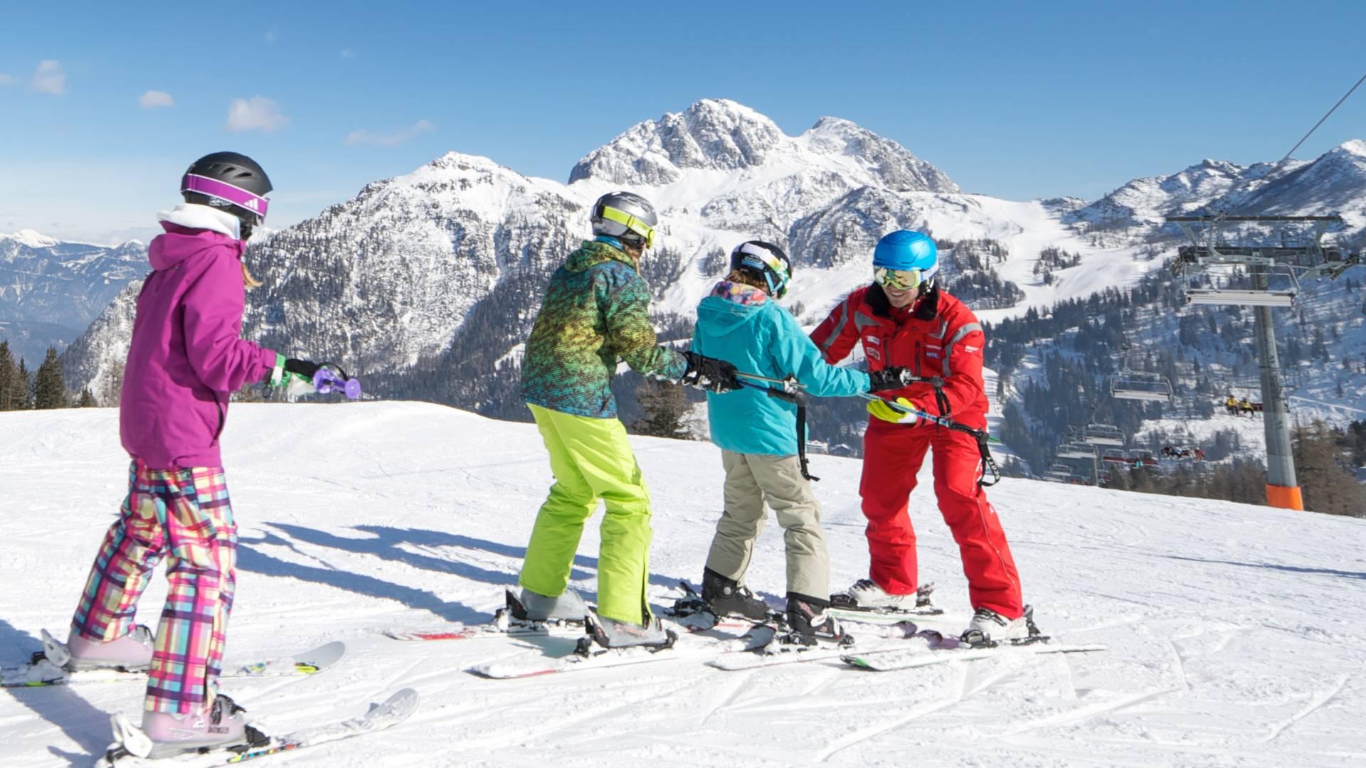 Nassfeld Skifahren lernen