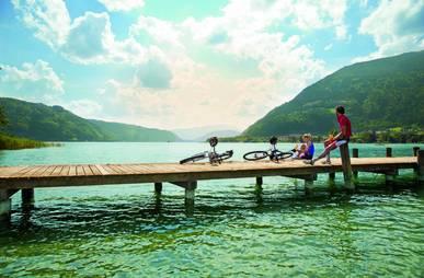 Radeln am Ossiacher See