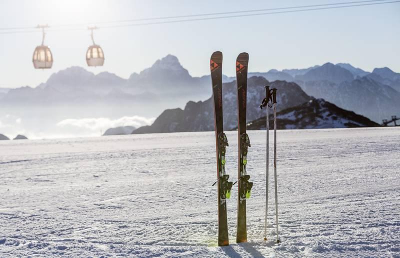 Falkensteiner Sonnenalpe Nassfeld_Ski im Schnee
