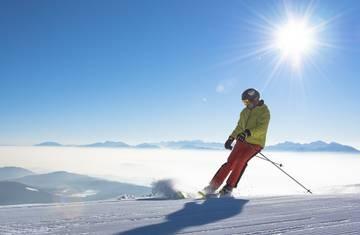 Skifahren auf der Gerlitzen