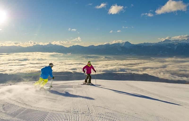 Gerlitzen Alpe Skifahren