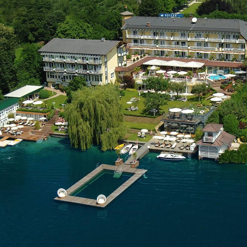 KOLLERs Hotel direkt am Millstätter See