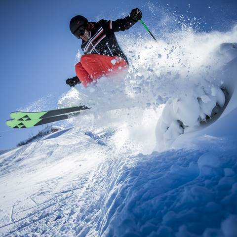 Nassfeld Freeride Skifahren