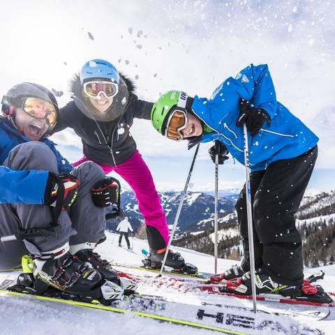 Skifahren FamilienSki