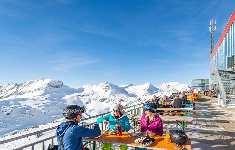 Kulinarik am Moelltaler Gletscher
