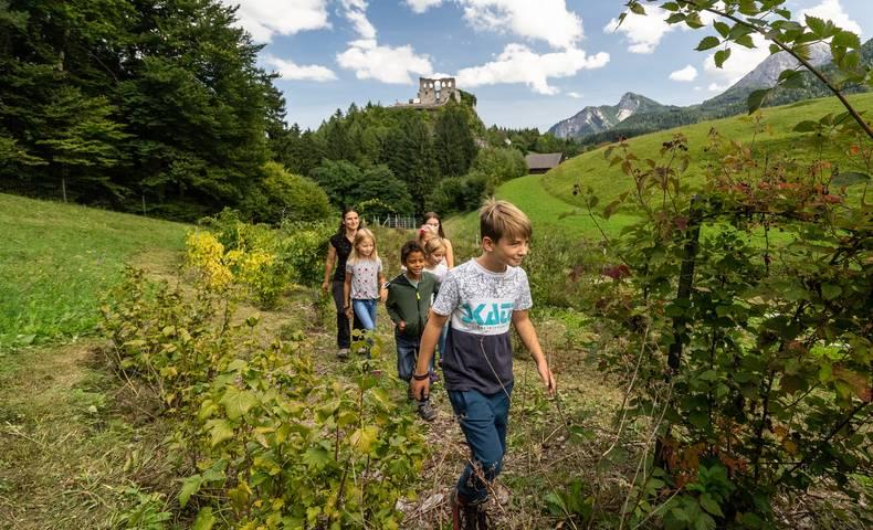 Naturel Hoteldorf Schönleitn Kinderbetreuung