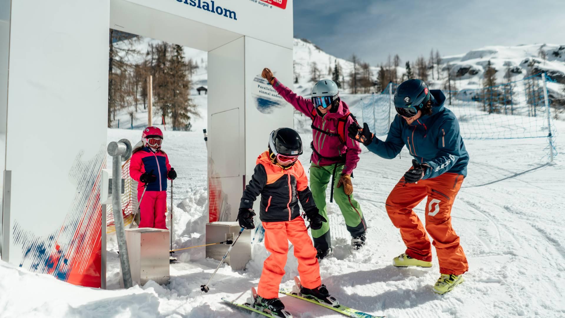 Aktivhotel Karnia Nassfeld_Family Ski Movie Strecke