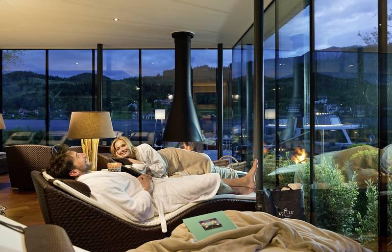 Hotel Kollers Seesauna mit Ruheraum