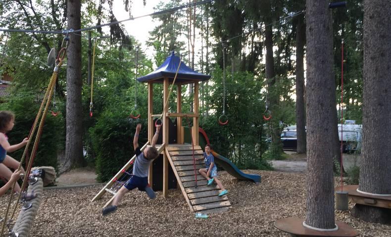 Spielplatz am Camping Anderwald