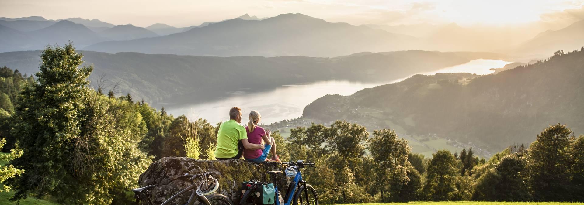 Urlaub am See Ka rnten Seen Schleife Millsta tter See UweGEISSLER KaerntenWerbung