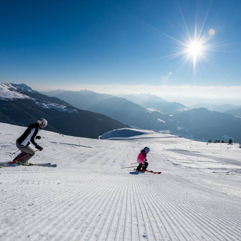 Skifahren Drautal