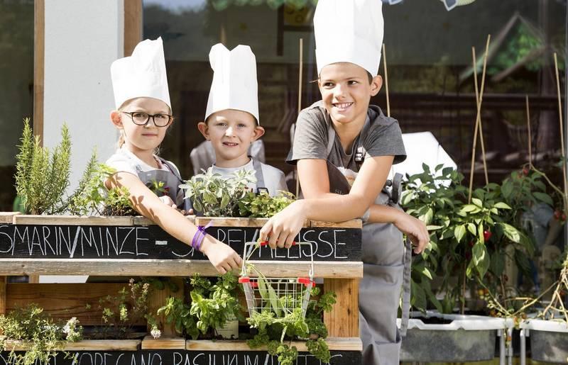 Familienhotel Kreuzwirt am Weissensee und die Minikoeche