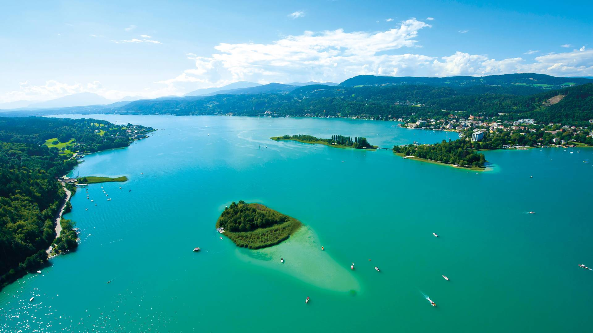 Kapuzinerinsel am Woerthersee