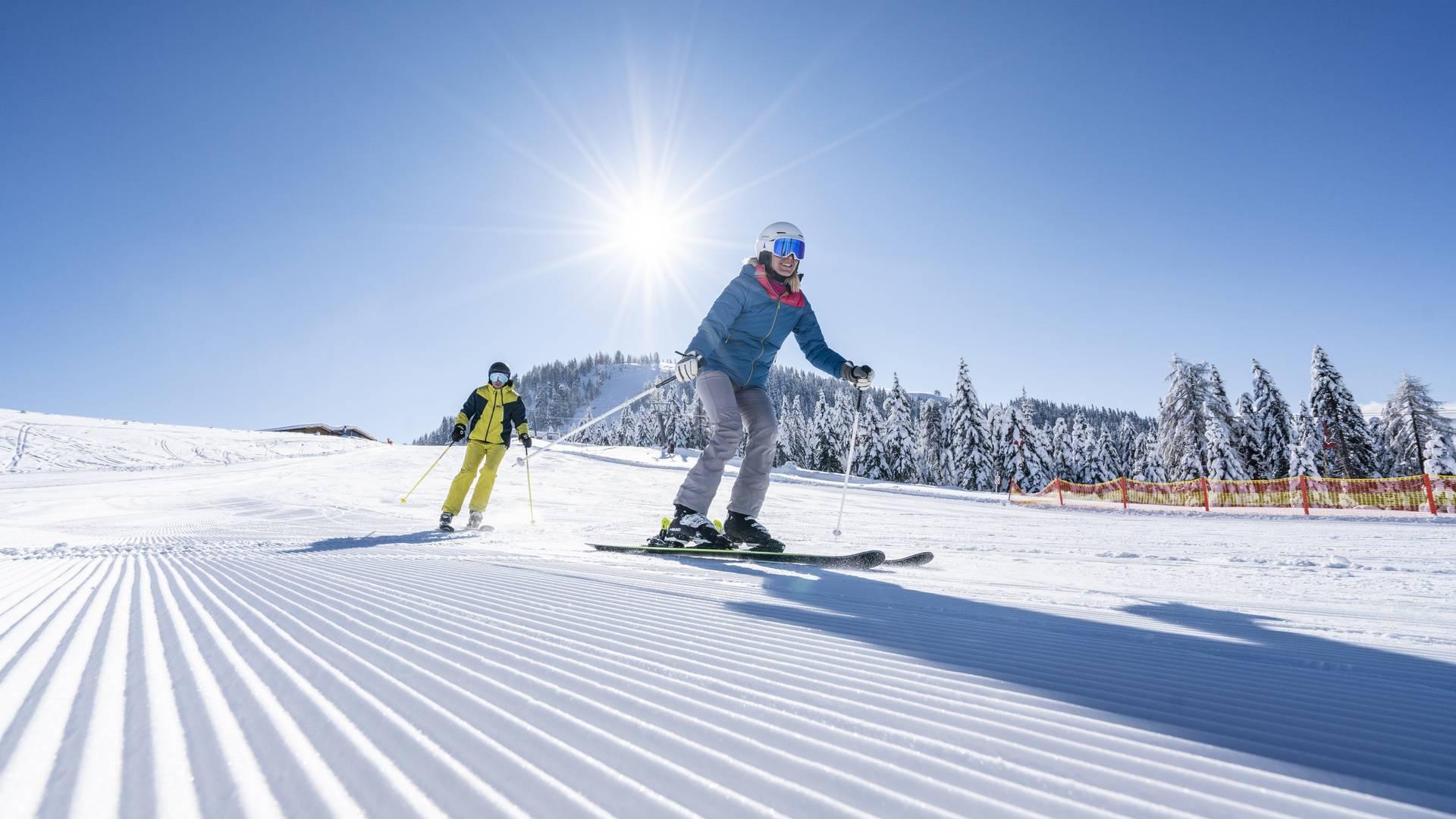 Skifahren am Sportberg Goldeck
