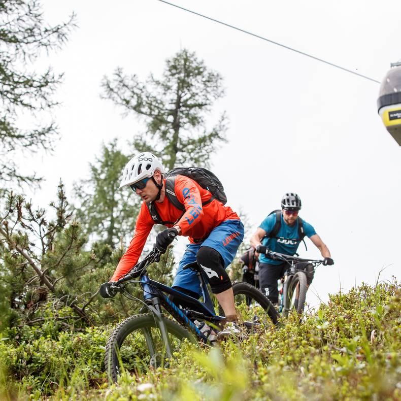 Mountainbiken in der Region Klopeiner See Petzen