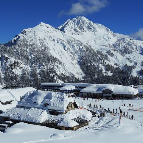 Panorama Berge Nassfeld Gartnerkofel