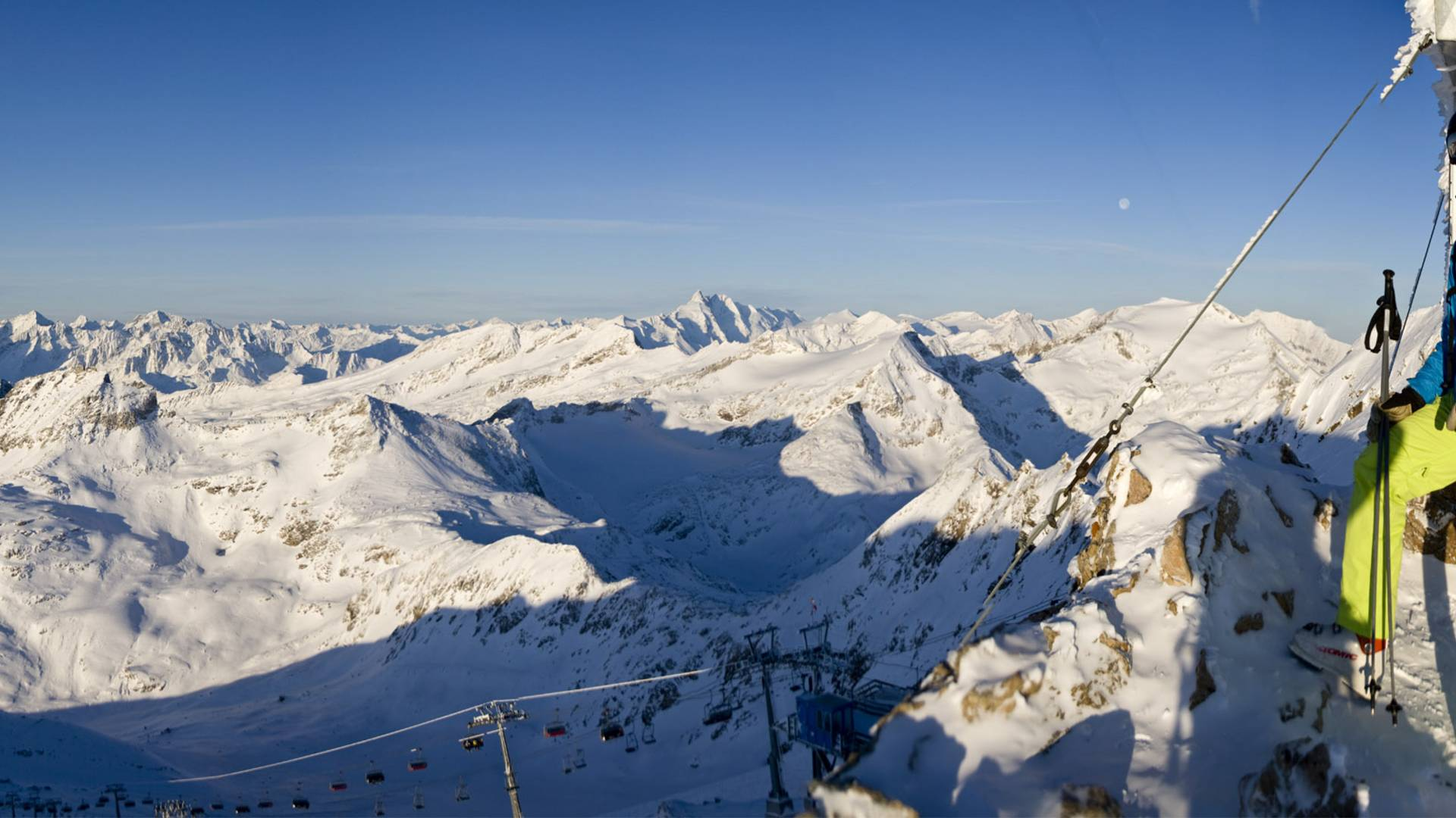 Skitouren am Moelltaler Gletscher