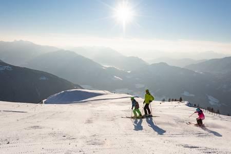 Rodzinne atrakcje na nartach na Emberger Alm