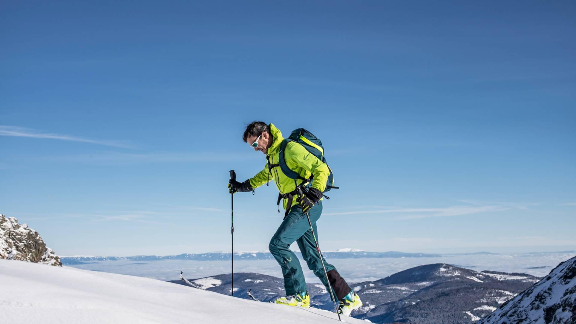 Skitouren am Falkert