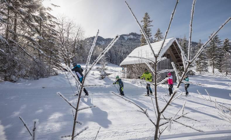 Region Weissensee_Winter_Langlaufen