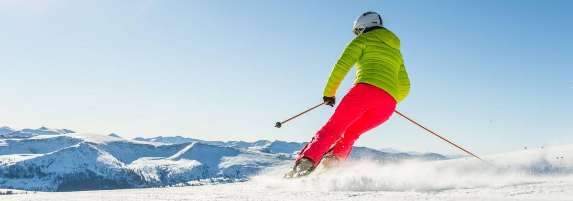 Skifahren im Winterurlaub in Österreich