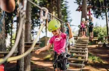 Adventure Park auf der Gerlitzen Alpe
