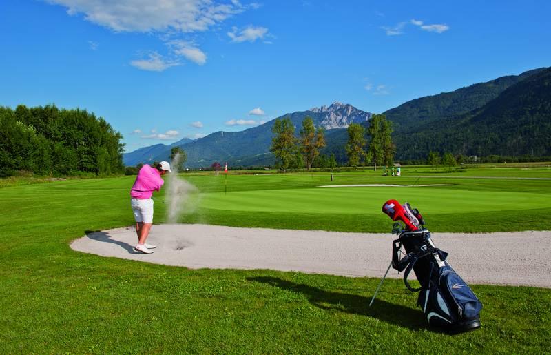 Golfen im Gailtal Nassfeld Golf