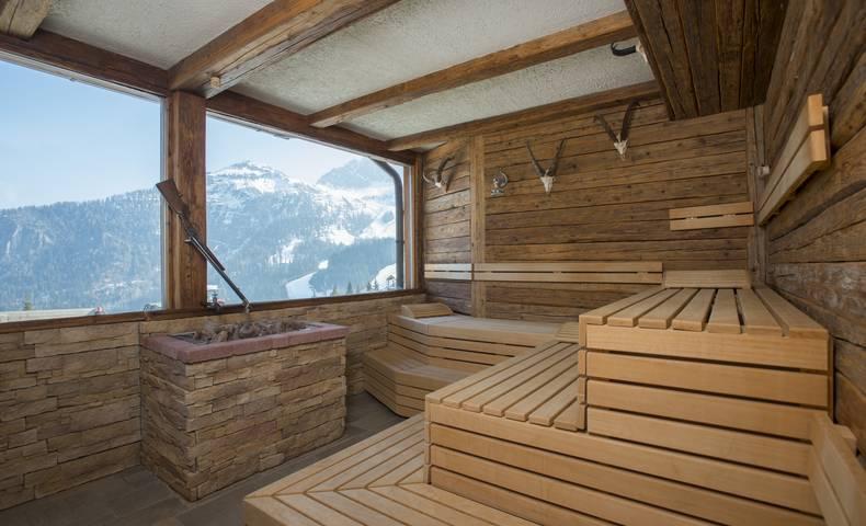 Hotel Gartnerkofel Sauna