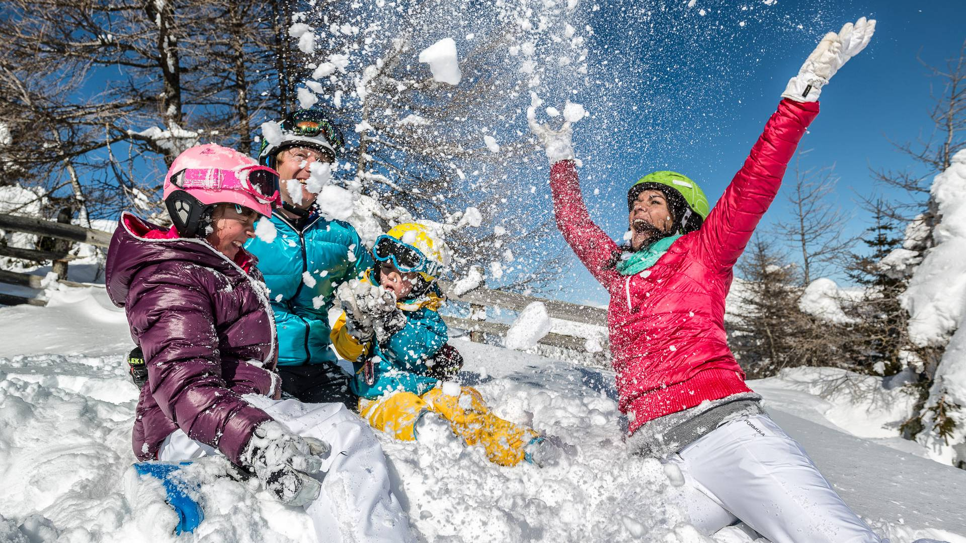 Katschberg_Skifahren_Spaß im Schnee