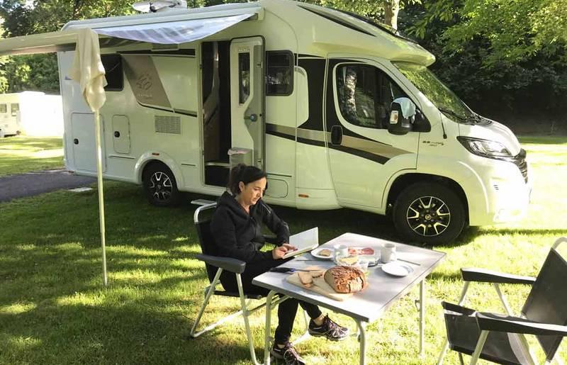 Social Camping Terrassencamping Maltatal Ute