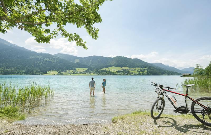 Weissensee - Naturkulisse und Radparadies